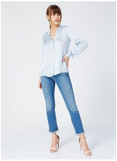 Fabrika Comfort Fabrika Comfort Guam Mavi Kadın Gömlek Mavi